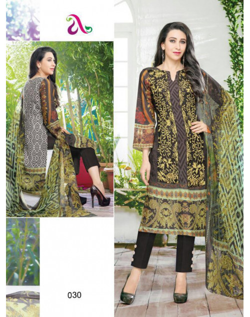 Karishma Kapoor Multi And Black Salwar Kameez