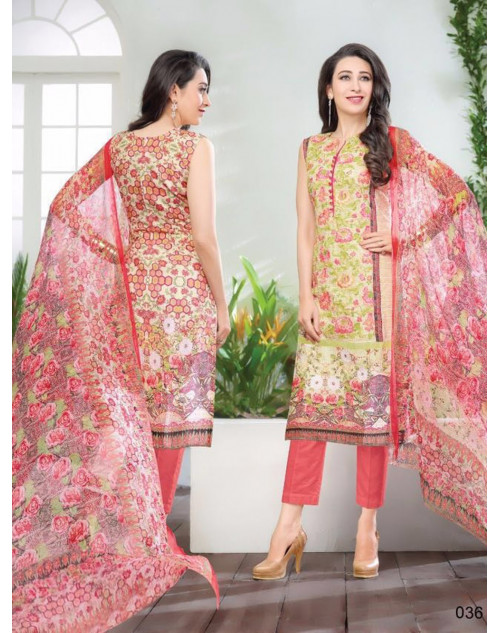 Karishma Kapoor Multi And Salmon Salwar Kameez