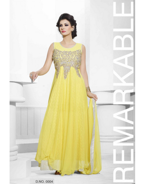 Zopim Yellow Wedding Gown