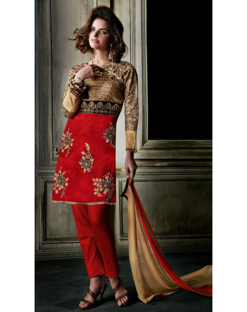 Red Stitch Designer Salwar Kamiz