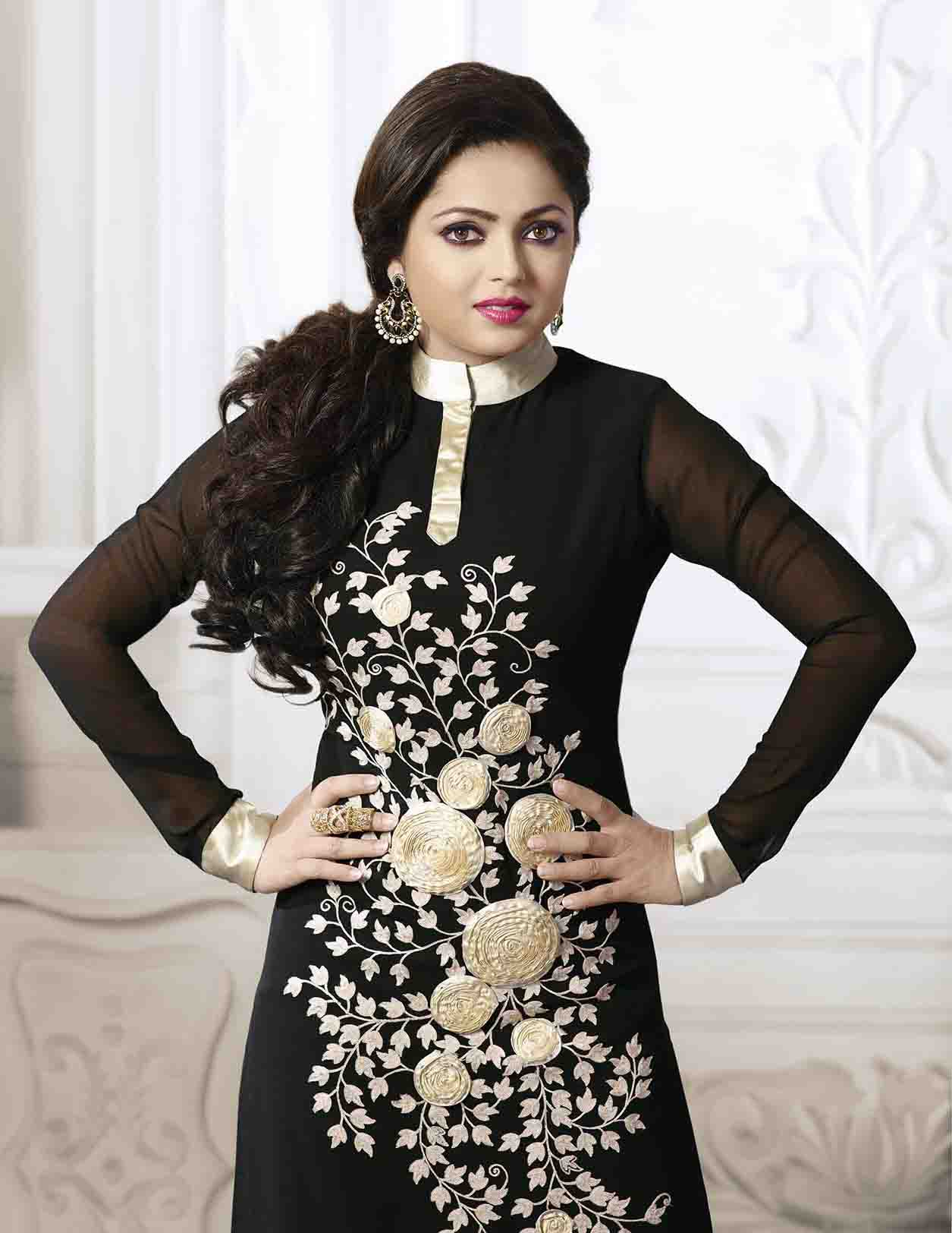 49dad5f454 Click on Photo. Sale Madhubala as Drashti Dhami Designer Black ...